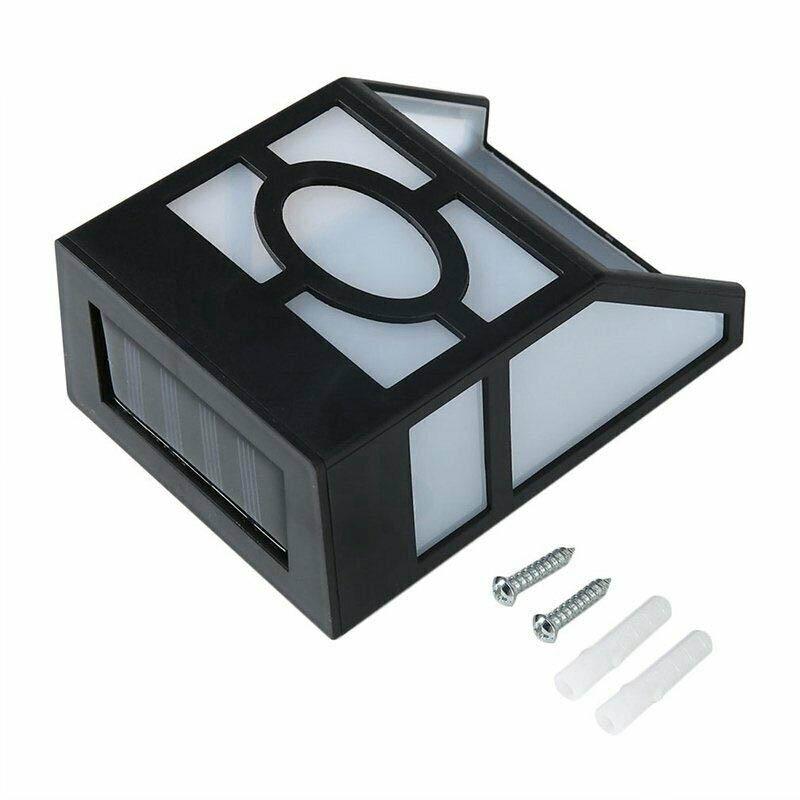 Kültéri, fekete, szolár lámpa csomag