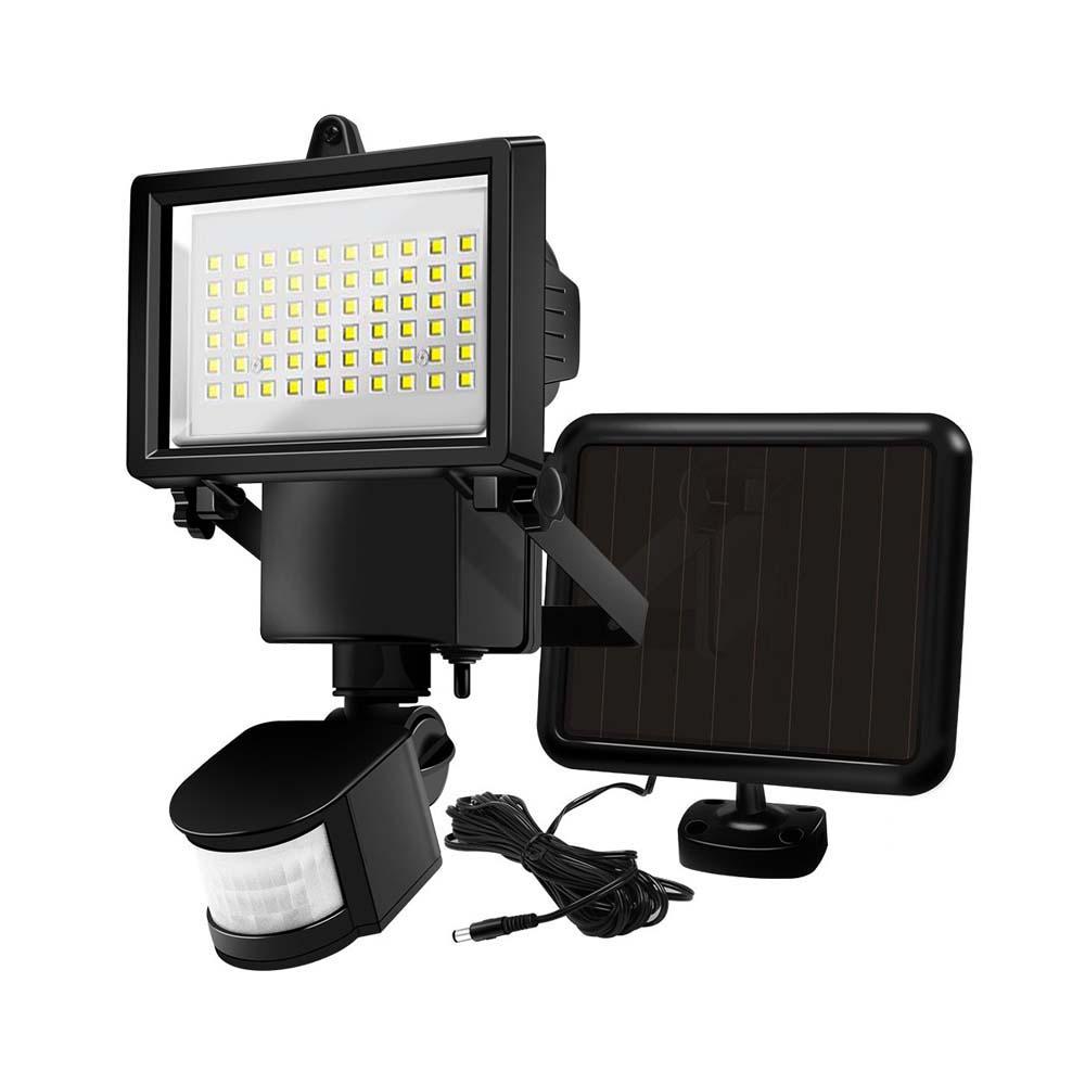 Napelemes reflektor, 60 LED